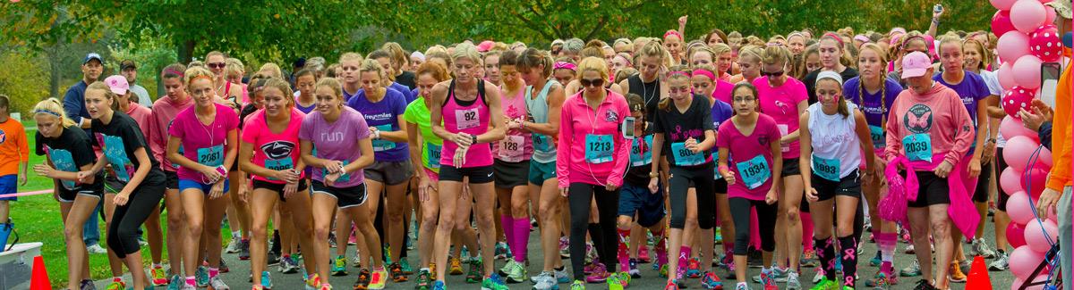 Women's 5K Classic start